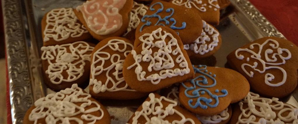 Glasuuritud piparkoogid