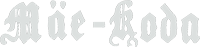 Mäe-Koda valge logo